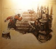 Log Cabin Gun Fight