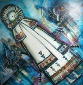 Untitled (3 Kachinas)