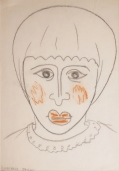 Untitled (Head of Woman)