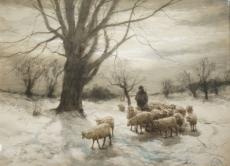 "Untitled ""Herding the Sheep"""