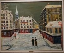 Montmartre In Winter, 1934