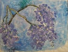 Branch from the Jacaranda Tree, 3/13/77