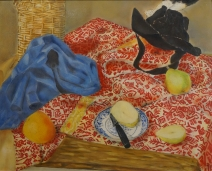 Still Life with Pears and Oranges