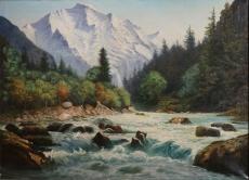 Mountain Scene, Canadian Rockies