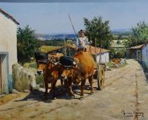 Portuguese Oxen Cart