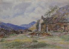 English Homestead, 1824 – Attributed to William C. Turner