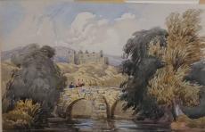 Old Stone Bridge, Circa 1828 – Attributed to William C. Turner