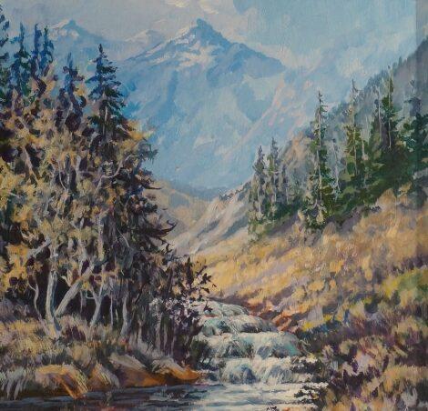 Untitled (Mountain Stream)