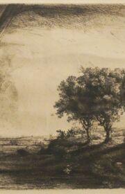 822-RembrandtLandscapeTrees